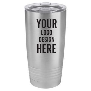 Engraved Polar Camel 20oz Grip Tumbler with Sliding Lid